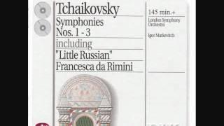 マルケヴィチ指揮ロンドン交響楽団 チャイコフスキー交響曲第1番「冬の...