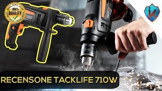 UNBOXING RECENSIONE Trapano Tacklife 710W 2800RPM