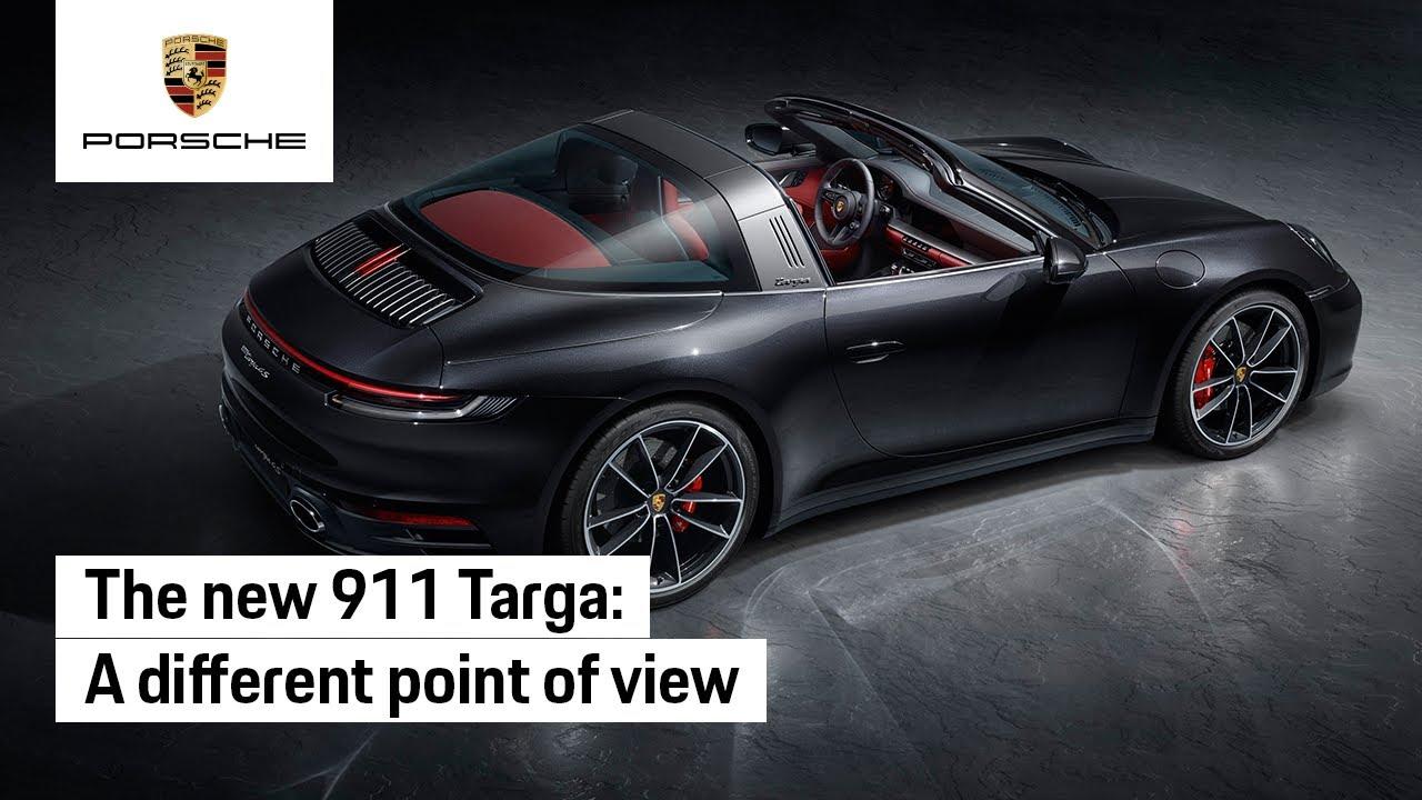 The New Porsche 911 Targa Youtube