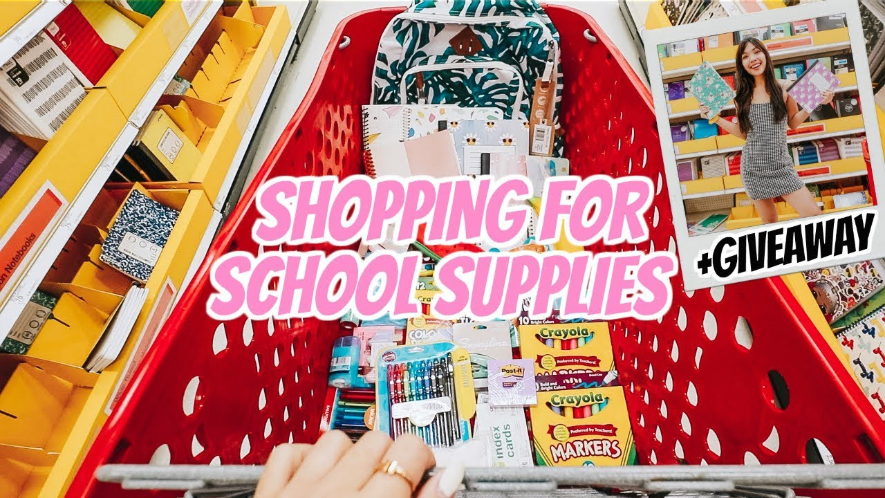 808fa84c58b5f Shopping for Back To School Supplies + Giveaway 2019!