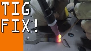 TIG Weld Repair on Machined Part!  WW155