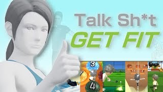GETTING FIT with Dincher! Wii Fit Funny Moments Workout?!