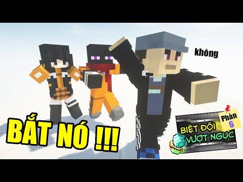 Minecraft Biệt Đội Vượt Ngục (Phần 6) #7- JAKI VÀ CUỘC TRUY ĐUỔI Ở NHẬT BẢN 👮 vs 😵