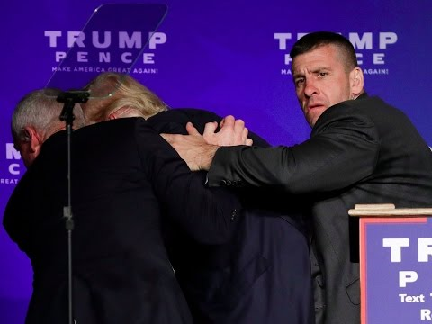 BREAKING NEWS: Donald Trump Rushed Off Stage by Secret Service - Reno, NV