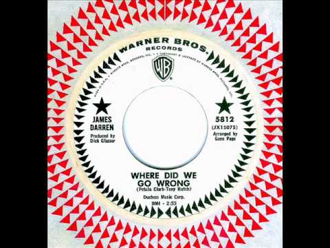 James Darren - WHERE DID WE GO WRONG  (1966)