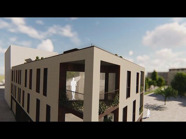 Concurso Sant Cugat Edificio   Vídeos 3D Render