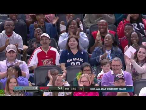 Jarrius Robertson - NBA All-Star Celebrity Game (//)