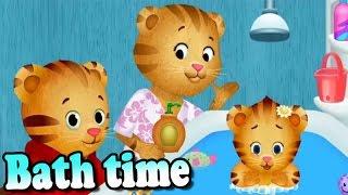 Daniel Tiger's Neighborhood Bathtime video game for kids. Daniel Tiger's Best Cartoon for Childrens