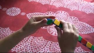 Собираем шар из змейки Рубика