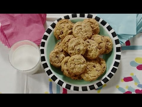 How To Make Chocolate Chip Oatmeal Peanut Butter Cookies | Cookie Recipes | Allrecipes.com