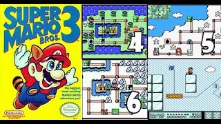 SUPER #MARIO BROS 3 NES en DIRECTO ( MUNDO 4, 5, 6 ) 2019