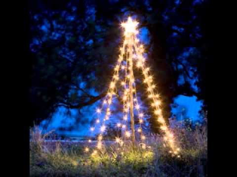 outdoor christmas tree lights decorations easy decorations ideas - Homemade Outdoor Christmas Light Decorations