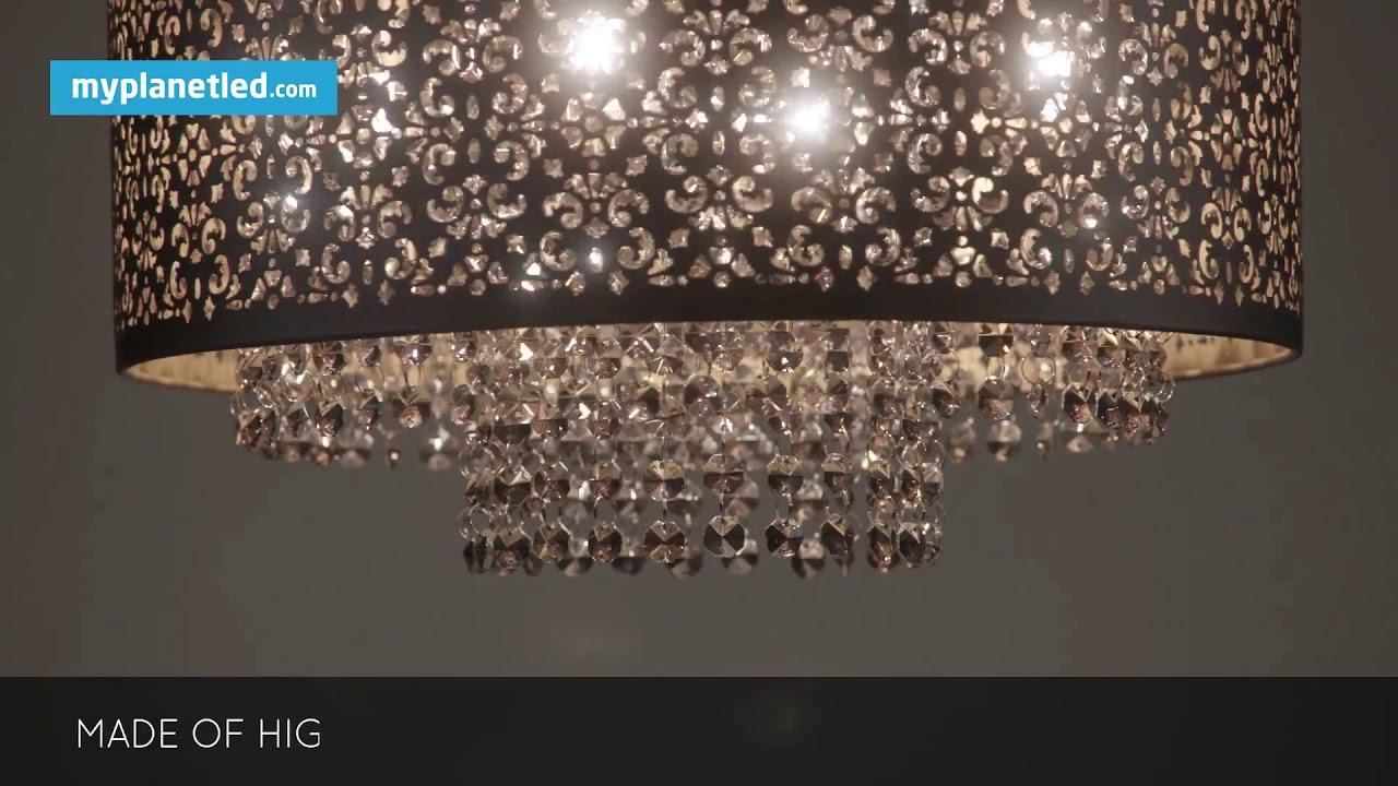 Stijlvol Kristallen Hanglampen : Kristallen hanglampen hanglampen rofra home