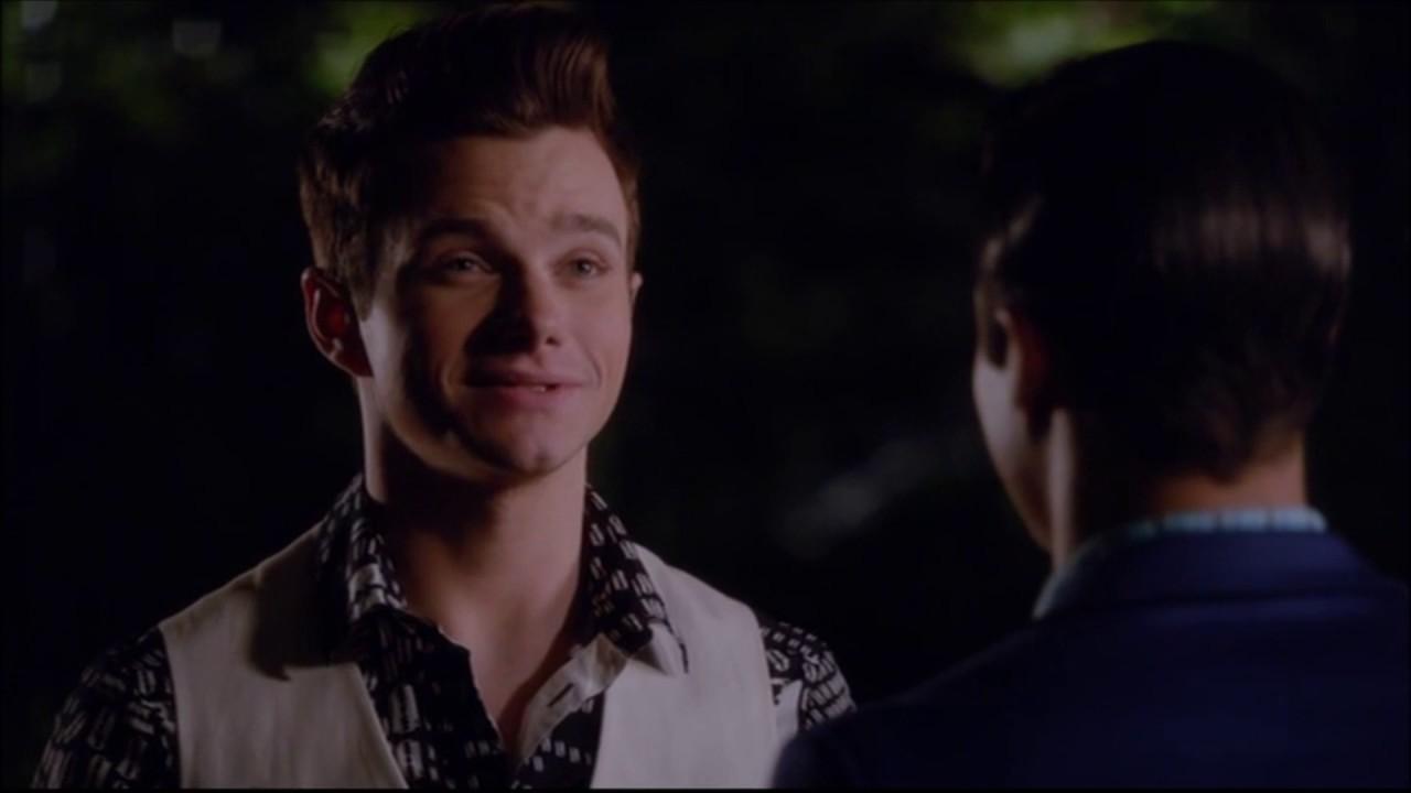 Glee Kurt Blaine Kiss: Kurt And Blaine Kiss 6x07