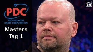 Hochspannung bei van Barneveld, Rob Cross weltmeisterlich | Highlights | PDC Darts Masters | DAZN