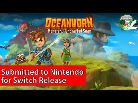 Oceanhorn Submitted To Nintendo!  Coming Soon?
