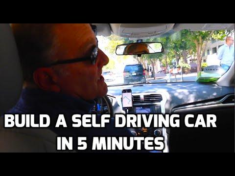 Build a Self Driving Car in 5 Min - Fresh Machine Learning #6