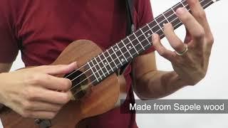 Alegria UK 13C Ukulele Sound Demo (Perfect - Ed Sheeran Fingerstyle Cover)