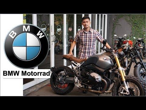 NYOBAIN BMW R NineT PALING GANTENG PUNYA GADING MARTEN PAKE KNALPOT FULL SYSTEM AKRAPOVIC #motovlog