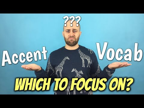 TOP TIPS to sound like a NATIVE SPEAKER | ACCENT or VOCAB?