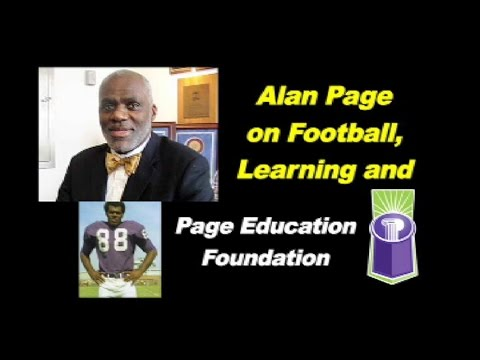Alan Page:  Football, Courts & Learning