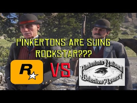 The Pinkertons Are Suing Rockstar Games For Red Dead Redemption What?????