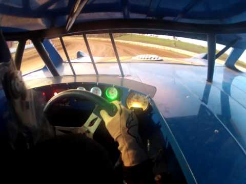 Ridge Warren practicing at Cochran Motor Speedway