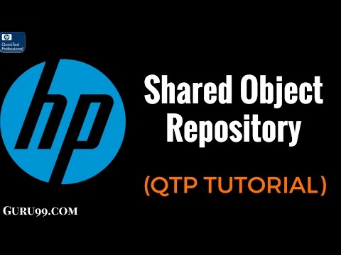 Shared Object Repository  - QTP TutoriaL #23