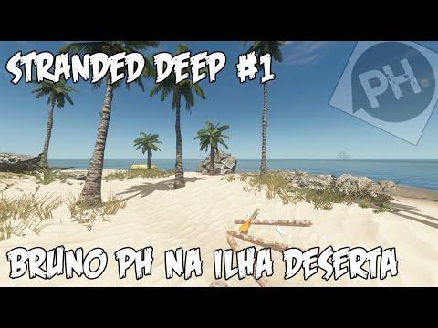 Stranded Deep #01 - Bruno Playhard na Ilha Deserta !!! (1080p 60fps)