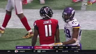 Julio Jones vs Xavier Rhodes (2017) | WR vs CB Highlights
