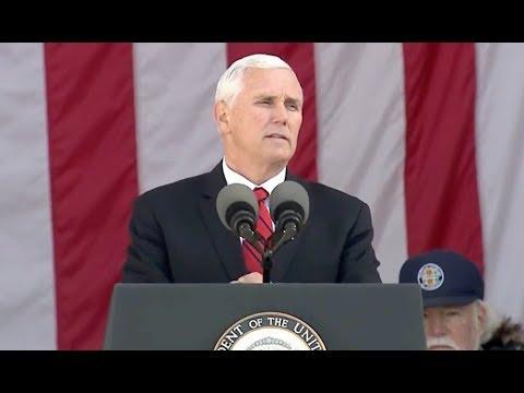 VP Pence Veterans Day Speech At Arlington Cemetery - Full Speech