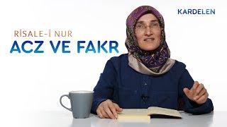 risale-i-nur-dersleri-1-sz-2-acz-ve-fakr-kavramlar-emine-erolu