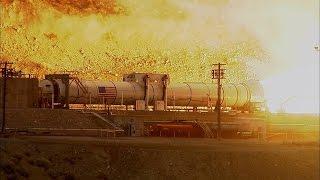 La Nasa teste avec succès le booster le plus puissant jamais construit