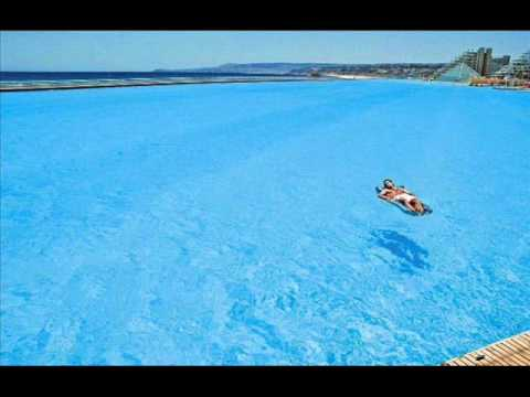 La piscina mas grande del mundo chile youtube for Piscina u de chile
