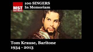 100 Singers - In Memoriam: TOM KRAUSE