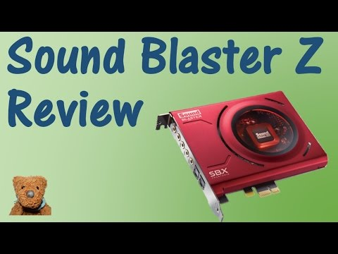 Creative Sound Blaster Z Review