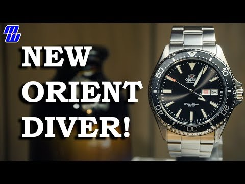 New Orient Diver - RN-AA0001B (Mako 3?) - Review, Measurements, Lume