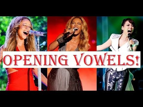 Female Singers - OPENING VOWELS!!! From Closed to Open Mouth!
