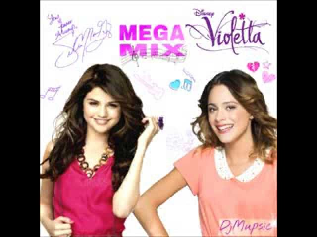 Megamix Selena Gómez y Violetta completo Travel Video