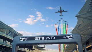 Flypass at the Formula 1 Etihad Airways Abu Dhabi GP 2020 | Etihad