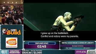 Metal Gear Solid 2 by Jaguar King in 1:32:27 - AGDQ 2017 - Part 9