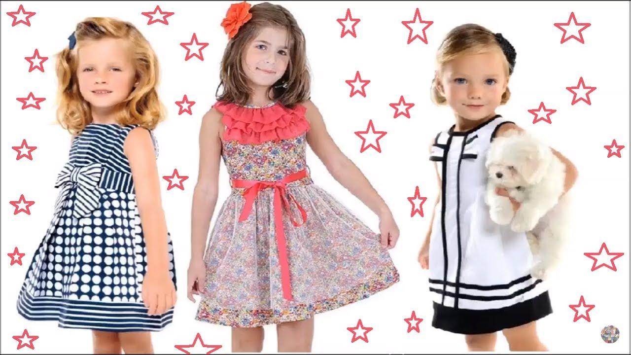 cd2a57f09 فساتين أطفال أحدث واجمل ملابس اطفال بنات للصيف 2 فاضمة للأعمال اليدوية