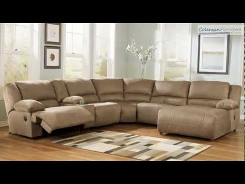 Hogan Mocha Living Room Collection from Signature Design by Ashley