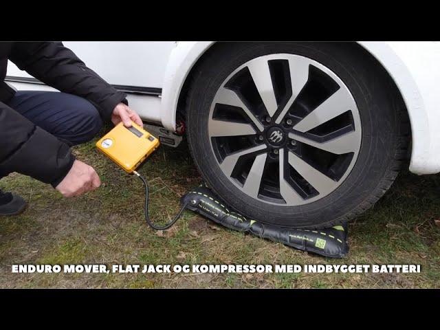 Enduro 505 FL mover, Flat Jack og kompressor