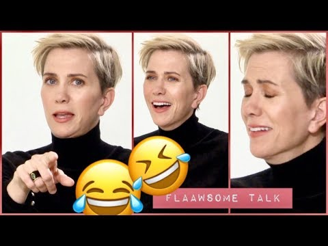 What Happens When KRISTEN WIIG Can't Stop Laughing...