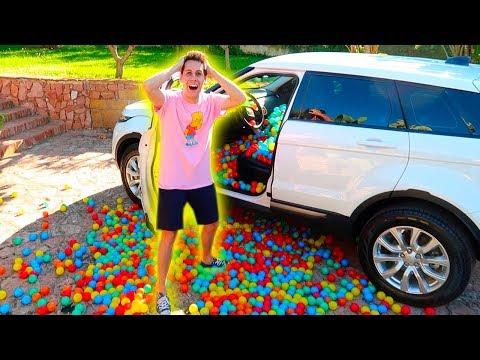 INSANE PLASTIC BALLS CAR PRANK TO MY BOYFRIEND!