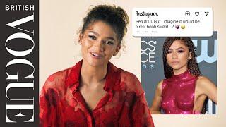 Zendaya  Nto The  Nstagram Archive British Vogue