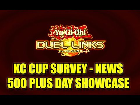 Yu-Gi-Oh! Duel Links | Post KC Cup News - Updates | 500 Day Login & Beyond!