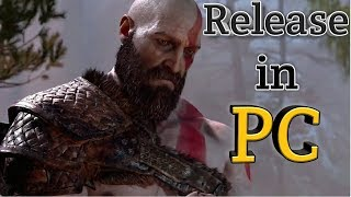 God of War 2018 Release in PC ??? Yes or No !!!!