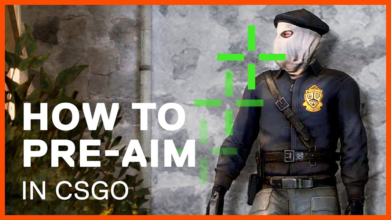 How to Pre-aim in CSGO by Mastering Your Crosshair Placement
